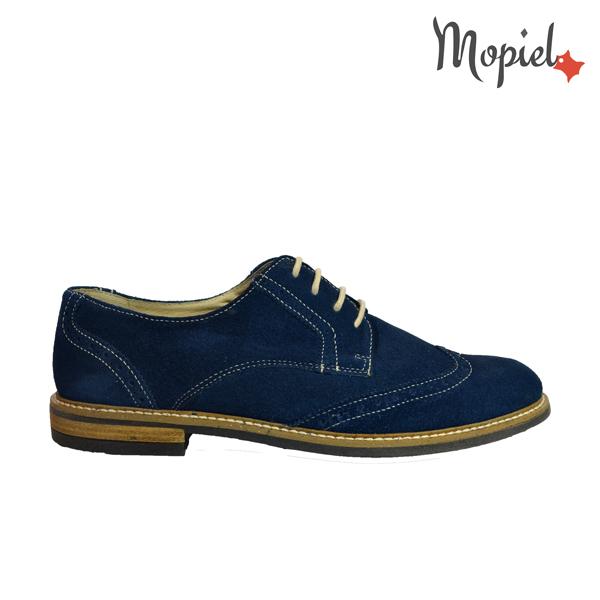 Pantofi barbatesti din piele naturala 13602/sp/bleumarin/Raphael Pantofi barbatesti din piele naturala Mopiel 1 1