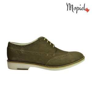 pantofi barbatesti - Pantofi barbatesti din piele naturala Mopiel - Pantofi barbatesti din piele naturala 13603/sp/maro/Apolo