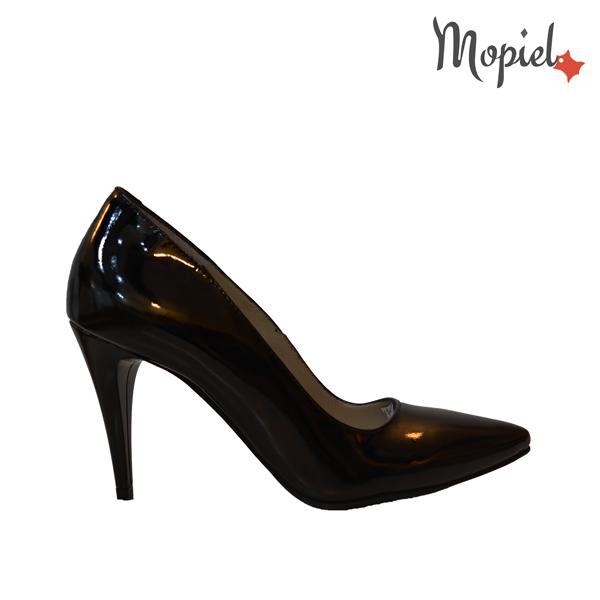 pantofi dama din piele naturala - DSC 4437 - Pantofi dama din piele naturala 24705/negru/Crina