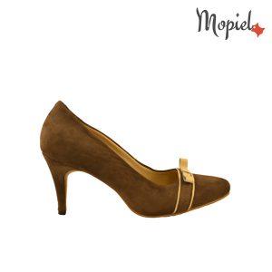 pantofi dama - Macheta Mopiel1111 300x300 - Pantofi dama din piele naturala 24300/maro