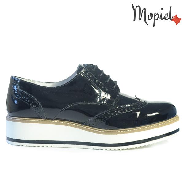 pantofi dama - Pantofi dama din piele naturala 23531lacnegruTiziana  - Pantofi dama din piele naturala 24701/Negru/Rona