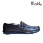 pantofi dama - Mocasini barbatesti din piele naturala interior din piele naturala Mopiel - Pantofi dama din piele naturala 23705/negru/Naty