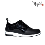pantofi dama - Panofi dama din piele naturala Mopiel - Pantofi dama din piele naturala 23705/negru/Naty