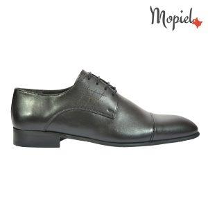 pantofi barbatesti - Pantofi barbatesti Mopiel - Pantofi barbatesti din piele naturala 102/negru