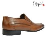 Pantofi barbatesti din piele naturala 105/maro incaltaminte-mopiel.ro pantofi barbatesti