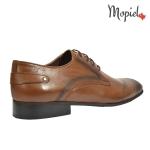 Pantofi barbatesti din piele naturala 104/maro incaltaminte-mopiel.ro pantofi barbatesti