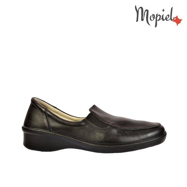 pantofi Pantofi confort din piele naturala 21/negru Pantofi confort Mopiel
