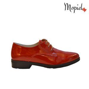 pantofi - Pantofi dama din piele naturala Mopiel - Pantofi dama din piele naturala 23526/lac/rosu/Aspen