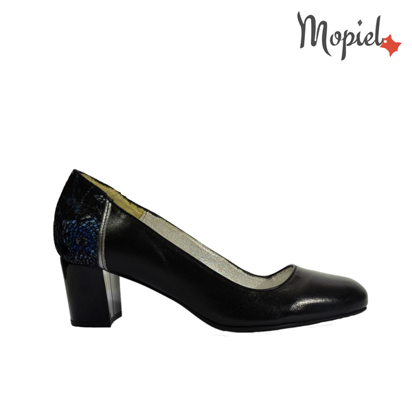 pantofi - Pantofi dama din piele naturala Mopiel - Pantofi dama din piele naturala 24703/negru/Rona