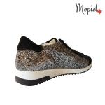 Pantofi dama din piele naturala cu siret, Mopiel.ro
