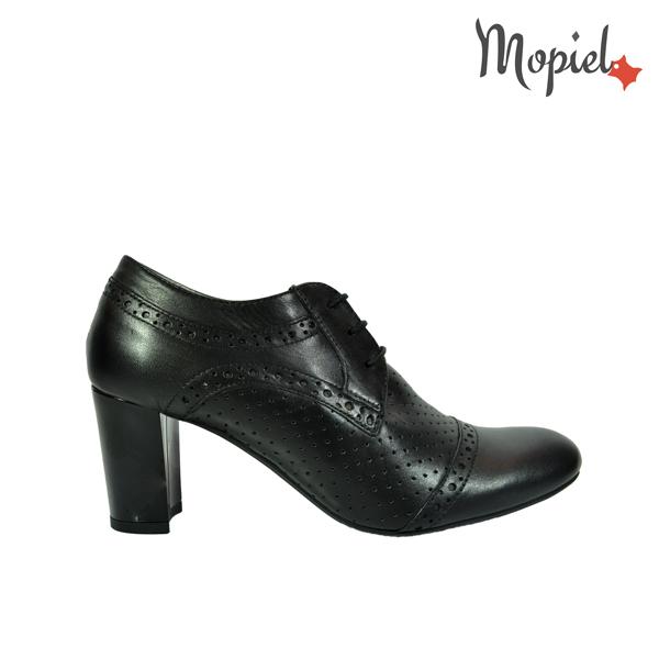 pantofi dama - Pantofi dama din piele naturala cu toc Mopiel - Pantofi dama din piele naturala 23528/negru/Carla