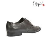 Pantofi barbatesti din piele naturala 108/negru incaltaminte-mopiel.ro pantofi barbatesti