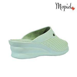 Papuci medicinali din piele naturala 10/alb incaltaminte-mopiel.ro papuci medicinali