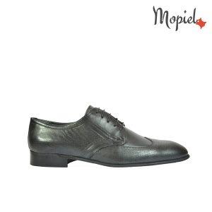 pantofi - pantofi barbati Mopiel - Pantofi barbatesti din piele naturala 108/negru