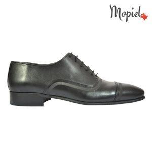 pantofi barbati - pantofi barbati Mopiel - Pantofi barbati, din piele naturala 101/negru