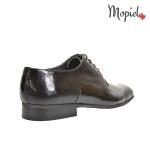Pantofi barbatesti din piele naturala 109/NEGRU/LAC incaltaminte-mopiel.ro pantofi barbatesti