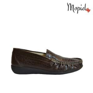 pantofi - Mocasini dama din piele naturala Mopiel - Pantofi dama din piele naturala 24430/lac/blue/Crina