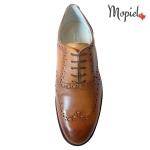 Pantofi barbatesti din piele naturala 13701/bej/Burgo incaltaminte-mopiel.ro pantofi barbatesti