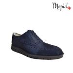 Pantofi barbatesti din piele naturala, Cu siret, Mopiel.ro