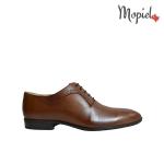 pantofi - Pantofi barbatesti din piele naturala cuu siret interior din piele naturala Mopiel - Pantofi barbatesti din piele naturala 13701/bej/Burgo