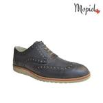 Pantofi barbati din piele naturala 13701/gri/deschis/Florin incaltaminte-mopiel.ro pantofi barbati