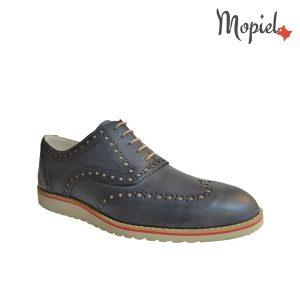 acasa Acasa Pantofi barbatesti din piele naturalla cu siret Mopiel