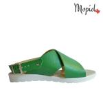 sandale Sandale dama din piele naturala Nela/25637/taupe/sarpe Sandale din piele naturala cu catarama interiorul este captusit cu piele naturala Mopiel