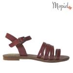 sandale Sandale dama din piele naturala Geo/25024/rosu 1 17 150x150