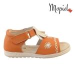 Sandale copii din piele naturala S 1111-2/orange 1 4 150x150