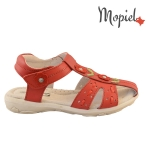 sandale Sandale copii din piele naturala HS1003/WHITE 2 1 150x150