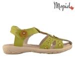 sandale Sandale copii din piele naturala HS1003/WHITE 2 2 150x150