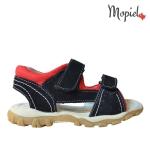 SANDALE Sandale copii din piele naturala H121D/BLACK DSC 6340 150x150