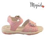 sandale Sandale copii din piele naturala HS1689-1/orange HS19 19 ROZ 1 150x150