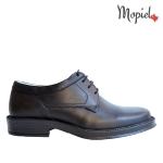 pantofi Pantofi barbatesti din piele naturala 14506/negru/Amoco Pantofi barbatesti din piele naturala cu siret interiorul este captusit cu piele naturala Mopiel