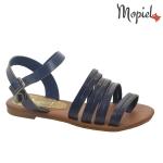 Sandale dama cu multe barete, albastre-Mopiel (2)