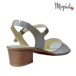 Sandale dama din piele naturala cu catarama, interior din piele naturala, Mopiel.ro
