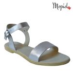 Sandale dama din piele nauturala cu catarama, Mopiel.ro