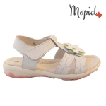 sandale Sandale copii din piele naturala HS1003/WHITE hs1003 alb 1 150x150