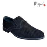 pantofi barbatesti din piele naturala cu elastic in parti, Mopiel.ro