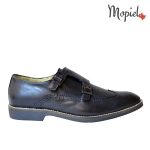 mocasini - pantofi barbati pantofi dama pantofi piele naturala Mopiel - Mocasini barbatesti din piele naturala 1340/bleumarin/perf/top