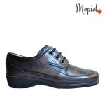 sandale Sandale dama din piele naturala 25623/argintiu/sinem pantofi dama din piele naturala cu siret interior din piele naturala Mopiel