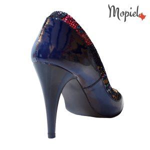Pantofi dama din piele naturala 24430/lac/blue/Crina incaltaminte-mopiel.ro pantofi dama
