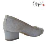 Pantofi dama din piele naturala 24704/taupe/picatele/bej incaltaminte-mopiel.ro pantofi dama