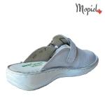 papuci medicinali dama din piele naturala cu catarama, Mopiel.ro