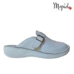 papuci Papuci medicinali din piele naturala 128/negru papuci medicinali pantofi dama pantofi barbati Mopiel