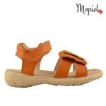 Sandale copii din piele naturala HS 1690/PINK sandale copii din piele naturala interior din piele naturala Mopiel