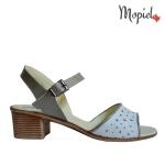 sandale Sandale dama din piele naturala 25623/argintiu/sinem sandale dama din piele naturala Mopiel