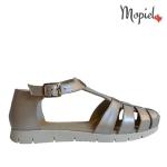 sandale Sandale dama din piele naturala Mimi/negru/croco sandale dama din piele naturala cu catarama interior din piele naturala Mopiel
