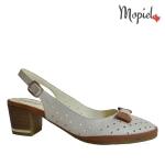 sandale Sandale dama din piele naturala 656/maro sandale dama din piele naturala interior din piele naturala Mopiel