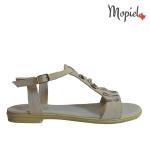 sandale Sandale dama din piele naturala Nela/25637/alb sandale dama din piele naturala pantofi dama din piele naturala pantofi barbatesti din piele naturala Mopiel